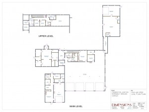 Fire hall floor plan